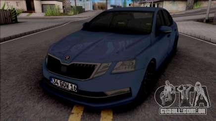 Skoda Octavia 2018 para GTA San Andreas
