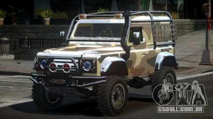 Land Rover Defender Off-Road PJ3 para GTA 4