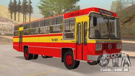 Ônibus Caio Gabriela II MBB LPO-1113 1979 para GTA San Andreas