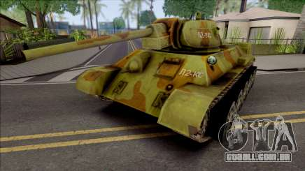 T-34-76 Penguins from Madagaskar para GTA San Andreas