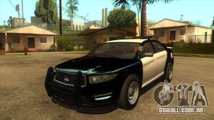 Interceptador vapid da polícia de MGRP para GTA San Andreas