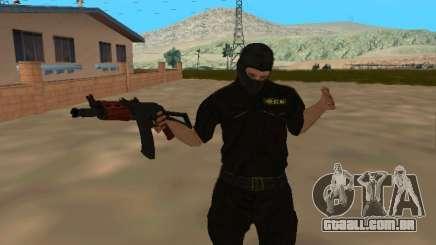 Pele da FSB em uma máscara para GTA San Andreas