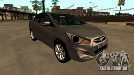 2013 Hyundai Solaris para GTA San Andreas