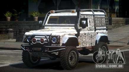 Land Rover Defender Off-Road PJ7 para GTA 4