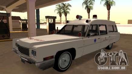 Cadillac Fleetwood 1970 Ambulance para GTA San Andreas