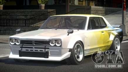 1977 Nissan Skyline KGC10 GT L6 para GTA 4