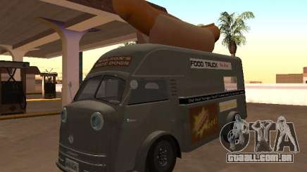 Tempo Matador 1952 Hotdog Van - Edition para GTA San Andreas
