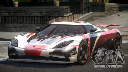Koenigsegg Agera BS-G L1 para GTA 4