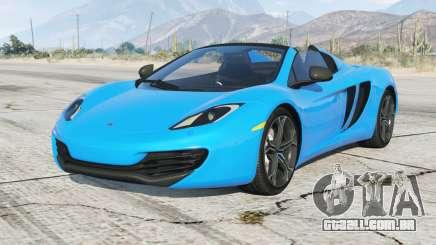McLaren 12C Spider 2012 para GTA 5