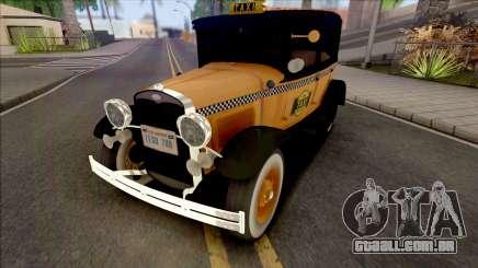Ford Model A Taxi 1928 para GTA San Andreas