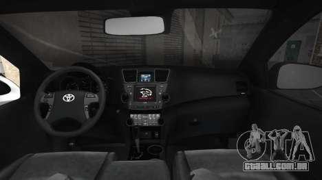 Toyota Hilux 2021 invencível Exclusive para GTA San Andreas