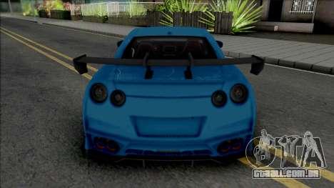 Nissan GT-R Premium KUHL Racing para GTA San Andreas
