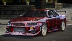 Nissan Skyline R34 GT-R PSI PJ5 para GTA 4