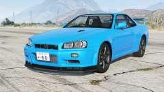 Nissan Skyline GT-R V-spec II (BNR34) 2000〡add-on para GTA 5
