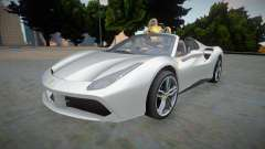 Ferrari 488 Spider 2016 Rodster