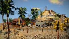 Mansion En El Monte Chiliad para GTA San Andreas