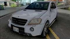 Mercedes-Benz ML 63 AMG 2009 Improved para GTA San Andreas