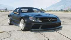 Mercedes-Benz SL 65 AMG Black Series (R230) 2008〡add-on para GTA 5