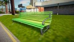 Park bench para GTA San Andreas