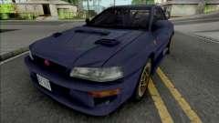 Subaru Impreza 22B Blue