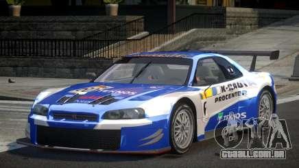 Nissan Skyline R34 G-Custom L3 para GTA 4