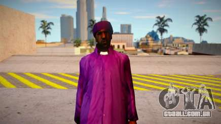 Sweet Johnson Balla Clothing Mod para GTA San Andreas