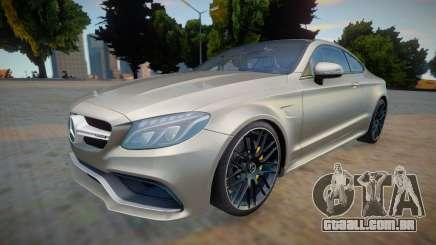Mercedes Benz-AMG C63 S Coupe para GTA San Andreas