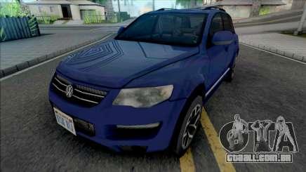 Volkswagen Touareg 2012 Blue para GTA San Andreas