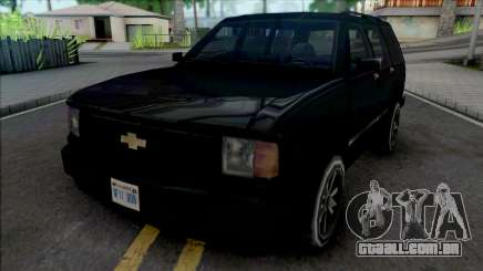 Chevrolet Blazer [BETA] para GTA San Andreas