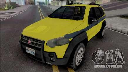 Fiat Palio Weekend Adventure 2013 Taxi RJ para GTA San Andreas