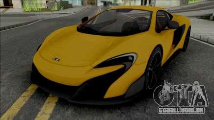 McLaren 675LT 2015 para GTA San Andreas