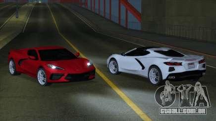 Chevrolet Corvette C8 2020 MY para GTA San Andreas