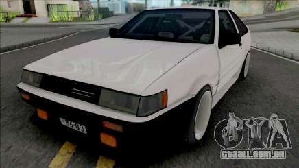 Toyota AE86 Levin Touge Version para GTA San Andreas