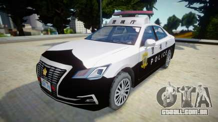 Toyota Crown Patrol Car 2016 (210系) para GTA San Andreas