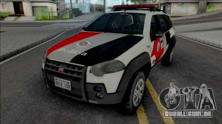 Fiat Palio Weekend Adventure 2013 PMESP para GTA San Andreas