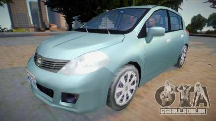 Nissan Tiida 2012 - Improved v2 para GTA San Andreas