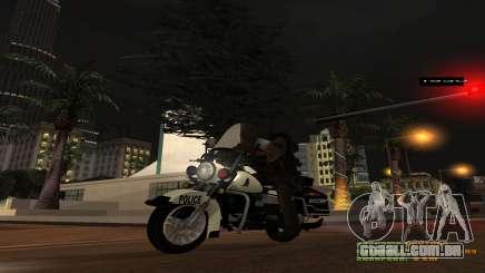 Moto da polícia MGCRP para GTA San Andreas