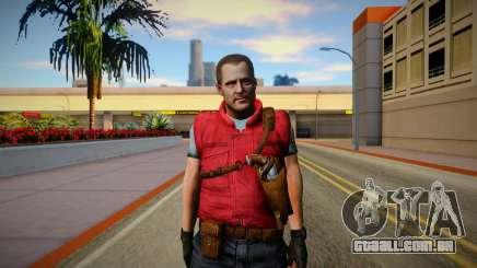 Barry Burton Skin para GTA San Andreas