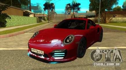 Porsche 911 Turbo S Black para GTA San Andreas