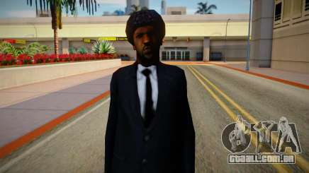 Sweet Johnson New Clothing Style & Hair para GTA San Andreas