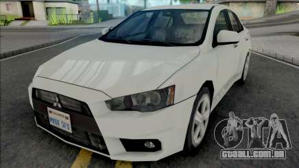 Mitsubishi Lancer 2.0 GT 2014 Improved para GTA San Andreas