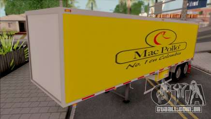 Container (Colombian Logos) para GTA San Andreas