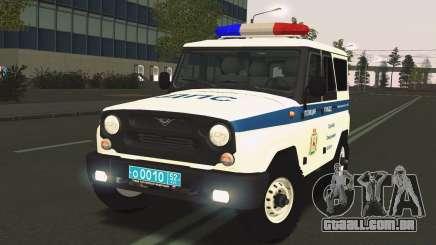 Serviço de Evacuação do Caçador de Caçadores da UAS para GTA San Andreas
