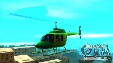 Helicóptero MegaFon para GTA San Andreas