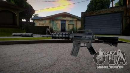 M4 from Counter Strike 1.6 para GTA San Andreas