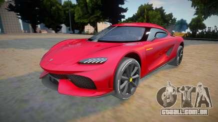 Koenigsegg Gemera para GTA San Andreas