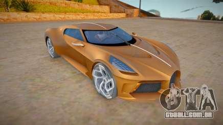Bugatti La Voiture Noire para GTA San Andreas