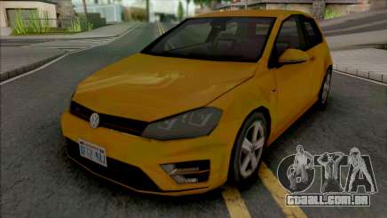 Volkswagen Golf GTI 2014 Improved v2 para GTA San Andreas