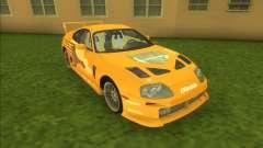2F2F Toyota Supra para GTA Vice City