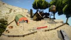 New Farm In Mount Chiliad para GTA San Andreas